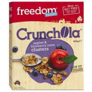 Freedom Foods Cereal Apple & Blueberry Cluster