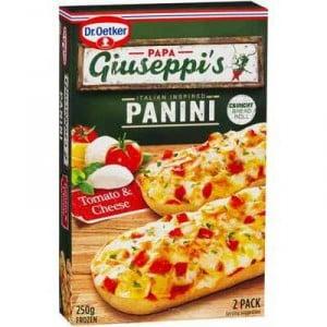 Papa Giuseppi's Panini Tomato & Cheese