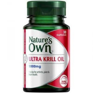 Nature's Own Ultra Krill Oil 1000mg