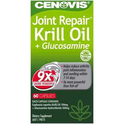 Cenovis Krill Oil + Glucosamine Capsules