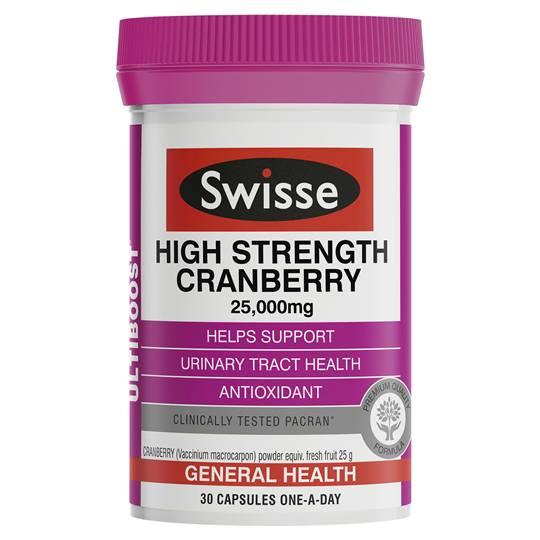 Swisse Ultiboost High Strength Cranberry Caps