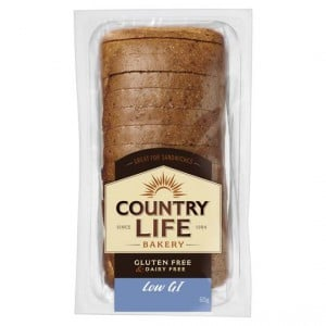 Country Life Gluten Free Bread Low Gi White