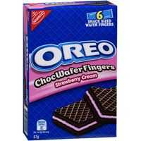 Oreo Choc Wafers Fingers Strawberry