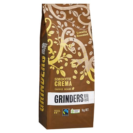 Fair Trade Organic Coffee Crema Bean