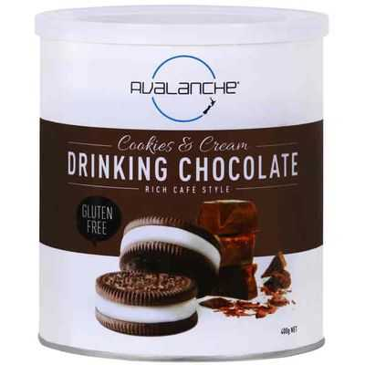 Avalanche Cookies & Cream Drinking Chocolate