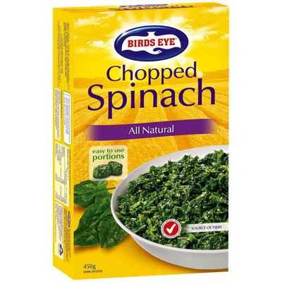 Birds Eye Spinach Chopped