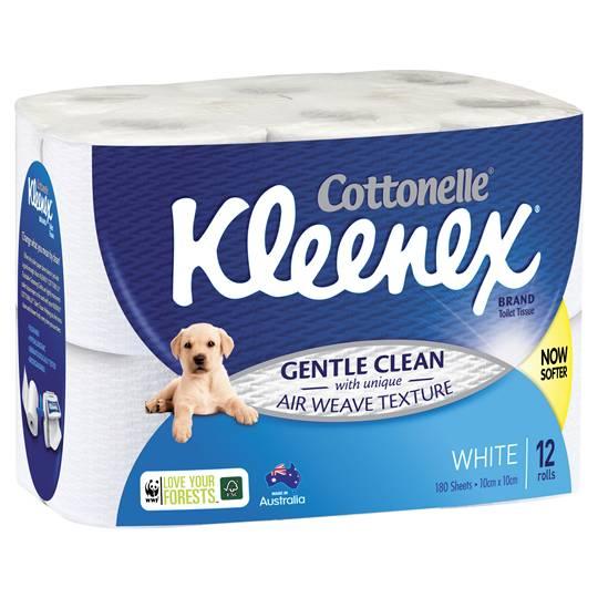 Kleenex Toilet Paper White
