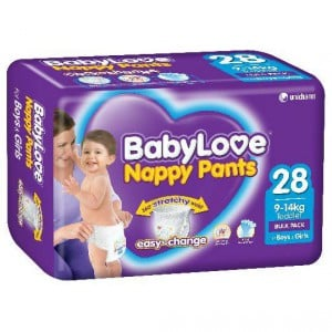 Babylove Nappy Pants Toddler 9-14kg