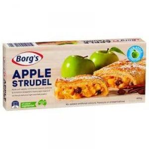 Borg's Desserts Apple Strudel