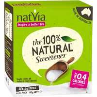 Natvia Sweetener Sticks