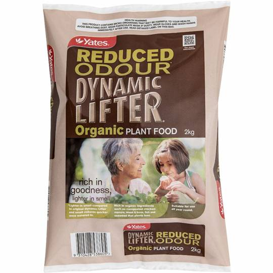 Yates Dynamic Lifter Garden Reduced Odour Plant Food