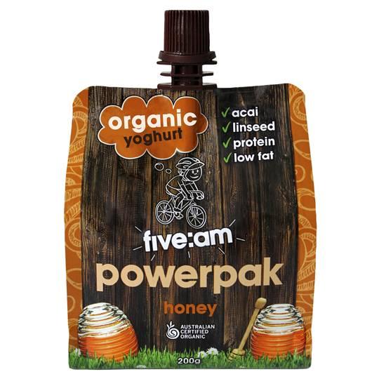Five:am Organic Honey Yoghurt Powerpak