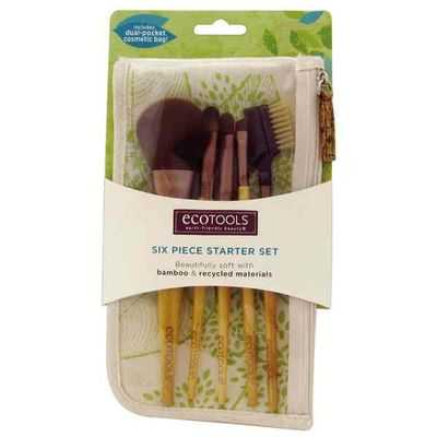 Ecotools Bamboo Cosmetic 6 Piece Brush Set