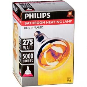Philips Bathroom Heat Globe 275w Es Base