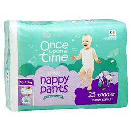 Once Upon A Time Nappy Pants Toddler 10-15kg