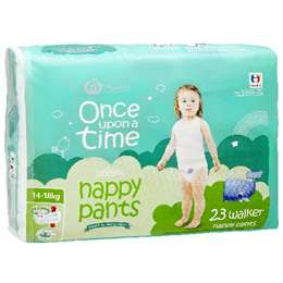 mossysmum reviewed Once Upon A Time Nappy Pants Walker 14-18kg