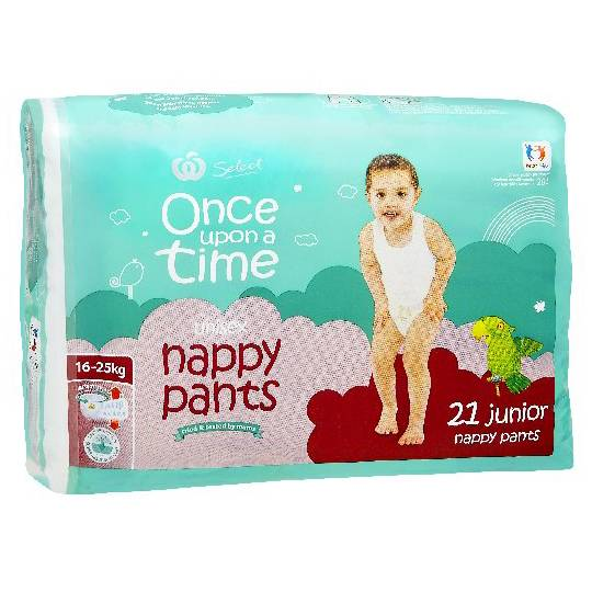 Once Upon A Time Nappy Pants Junior 16-25kg