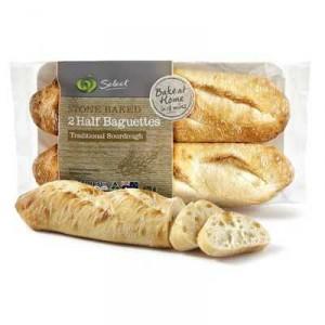 Bake At Home Bread Rolls Half Baguette