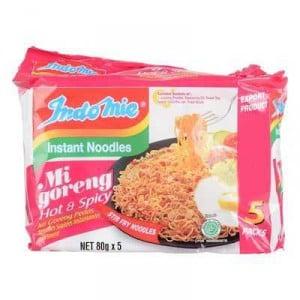 Indomie Hot & Spicy Noodles 5pk