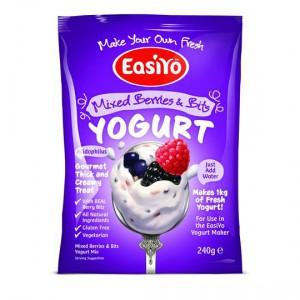 Easiyo Mixed Berries & Bits Yoghurt Base
