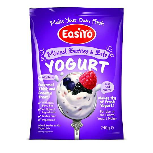 Easiyo Mixed Berries & Bits Yoghurt Base