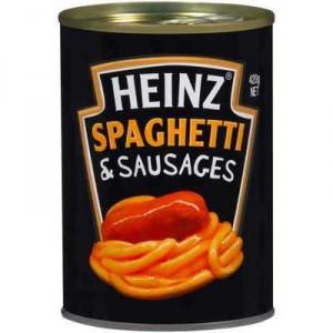 Heinz Spaghetti & Sausages & Tomato Sauce