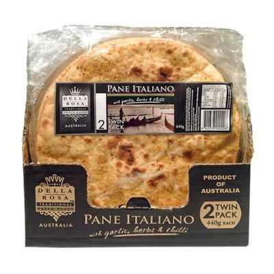 Della Rosa Pizza Base Pane Italiano Garlic