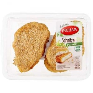 Quick Cook Chicken Crumbed Schnitzel Gluten Free
