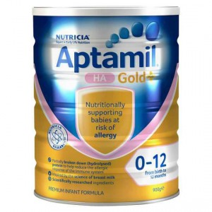 Aptamil Gold+ Ha Baby Formula Stage 1 From Birth 0-12 Months