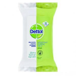 Dettol Instant Hand Sanitiser Wipes