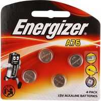 Energizer Button Batteries A76