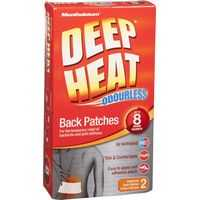 Deep Heat Back Patch