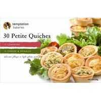 Temptation Bakeries Quiche Petite