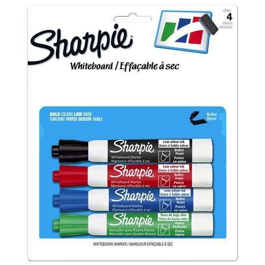 Sharpie Whiteboard Marker Assorted Colours