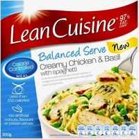 Lean Cuisine Balanced Serve Creamy Chicken Basil Spaghetti