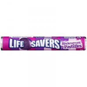 Lifesavers Fruit Pastille Blackcurrant
