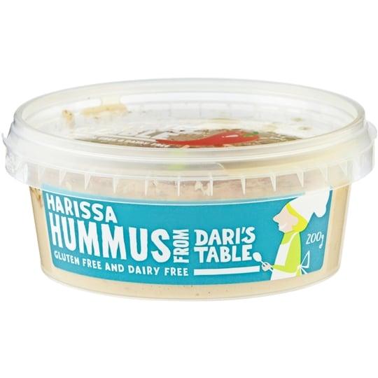 Harissa Soft Hummus