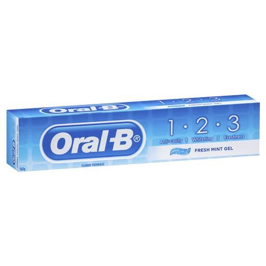 Oral-b Fluoride Toothpaste Fresh Mint Gel