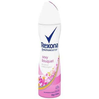 Rexona Women Antiperspirant Deodorant Spray Sexy Bouquet