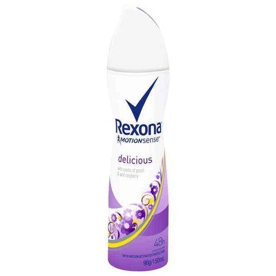 Beckallan reviewed Rexona Women Antiperspirant Deodorant Spray Delicious