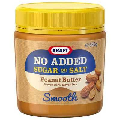 Kraft Smooth No Added Sugar Peanut Butter