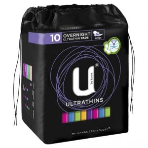 U By Kotex Ultrathins Overnight
