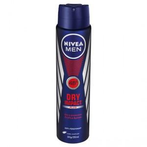 Nivea For Men Deodorant Aerosol Impact Aero