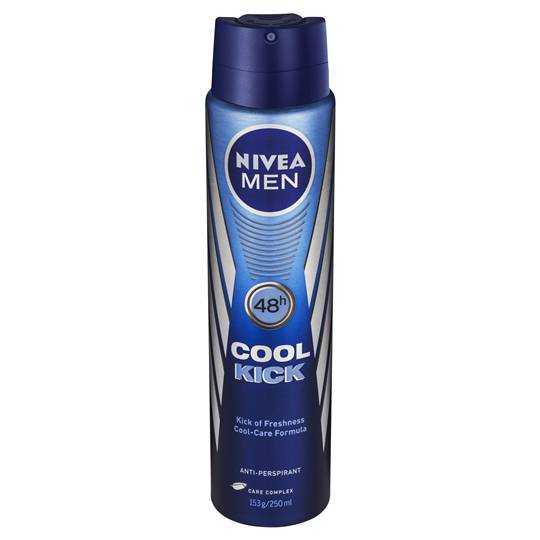 Nivea For Men Deodorant Aerosol Cool Kick