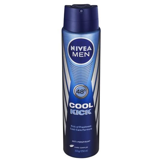 Nivea For Men Deodorant Aerosol Cool Kick