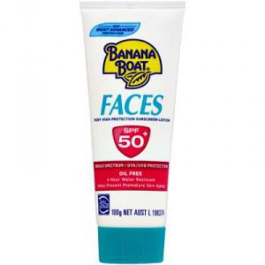Banana Boat Spf 50+ Sunscreen Faces