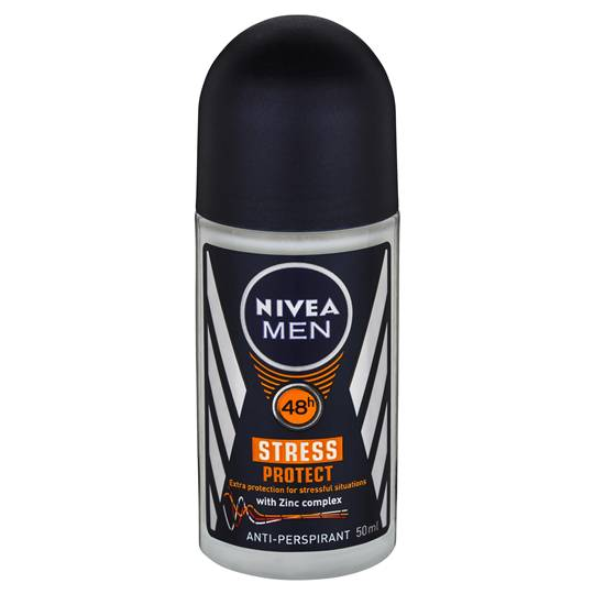 Nivea For Men Deodorant Roll On Stress Protect