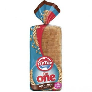 The One Tip Top Sandwich Bread Wholemeal
