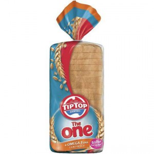 The One Tip Top Omega 3 Sandwich Bread White