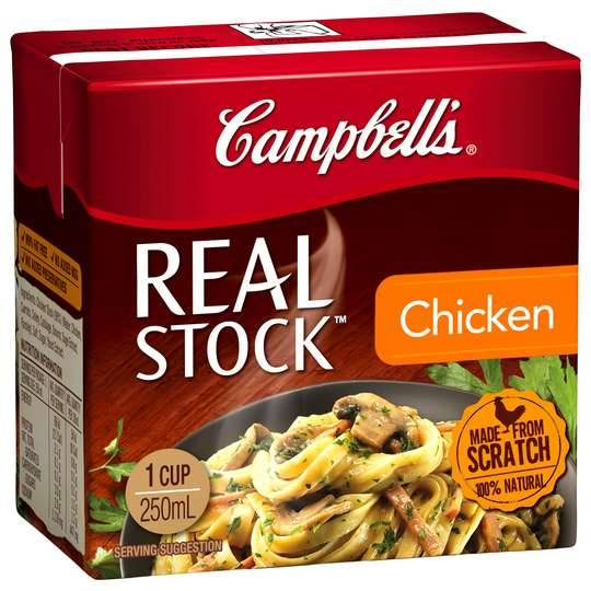 Campbells Real Chicken Stock